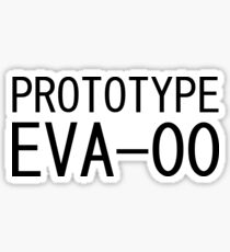 Prototype EVA-00 Evangelion ヾ(0∀0*★)゚*・.。 Sticker