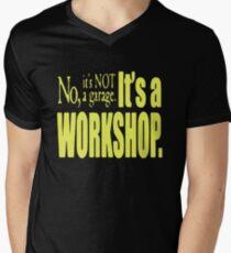 AWESOME WOOD WORKER Men's V-Neck T-Shirt