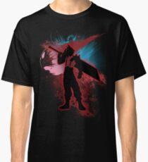 Super Smash Bros. Red Cloud Silhouette Classic T-Shirt