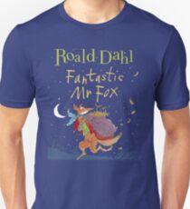 Fantastic Mr. Fox Book Cover T-Shirt