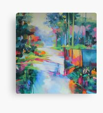 Bunya Riverside Canvas Print