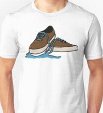 Leaking Shoe Unisex T-Shirt