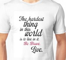 Buffy Typography Unisex T-Shirt