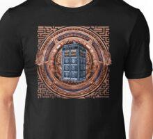 Aztec Time Travel Box full color Pencils sketch Art Unisex T-Shirt