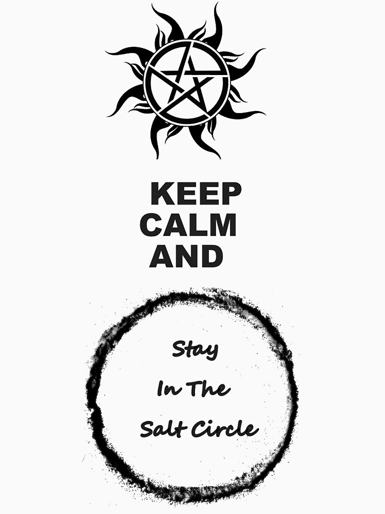 Supernatural Keep Calm And Stay | Unisex T-Shirt