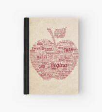 Regina Typography Hardcover Journal