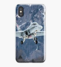 Swiss Air Force F-5E Tiger iPhone Case