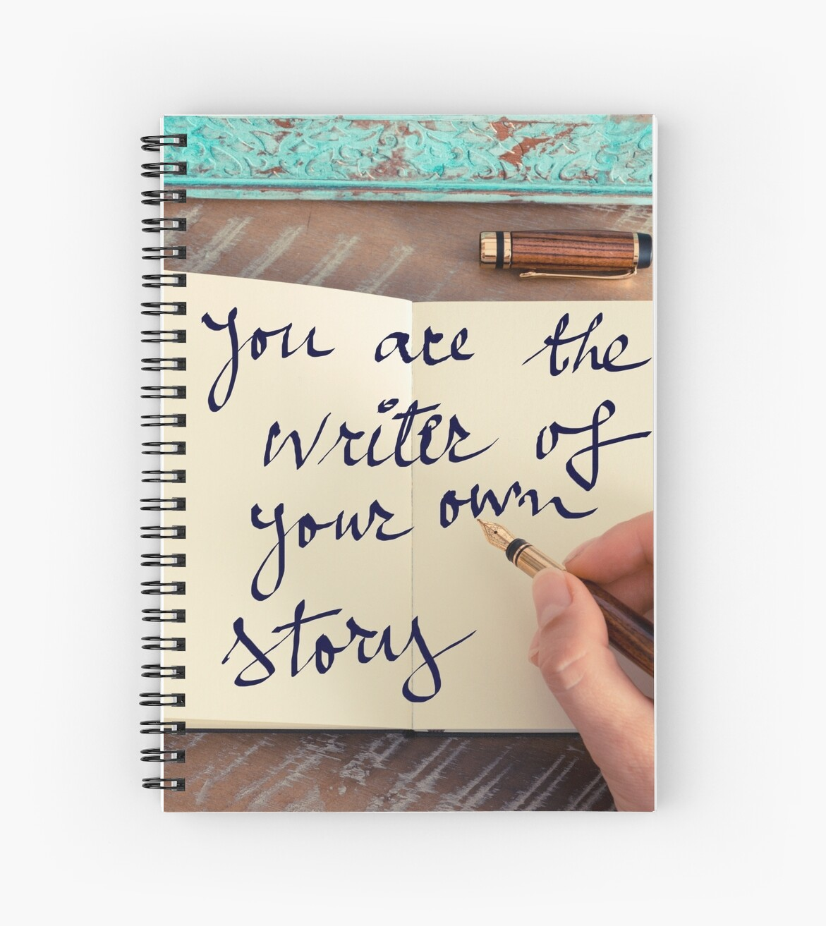 motivational concept handwritten text you are the writer of motivational concept handwritten text you are the writer of your own story spiral notebooks