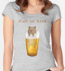 Pint von Bär Tailliertes Rundhals-Shirt