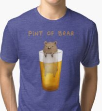 Pint of Bear Tri-blend T-Shirt