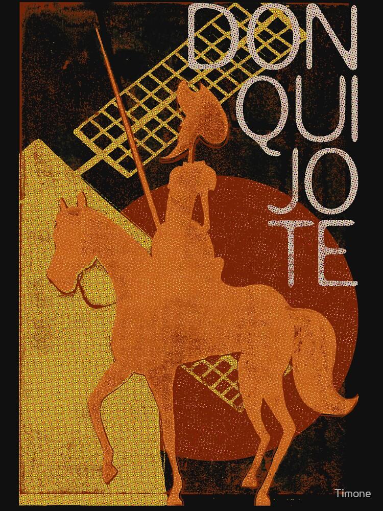 Books Collection: Don Quixote by Timone