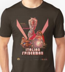 Italian Spiderman Poster - ONE:Print Unisex T-Shirt