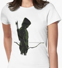 Green Arrow - Oliver Queen Womens Fitted T-Shirt