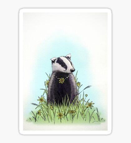 Daisy's Badger Sticker