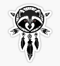 Raccoon Catcher Sticker