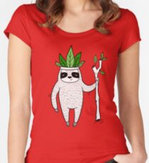 King of Sloth Women's Fitted Scoop T-Shirt