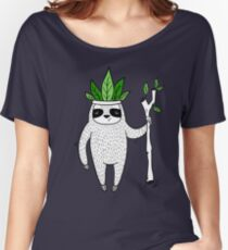 King of Sloth Women's Relaxed Fit T-Shirt