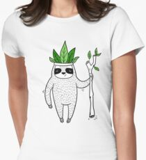 King of Sloth Women's Fitted T-Shirt