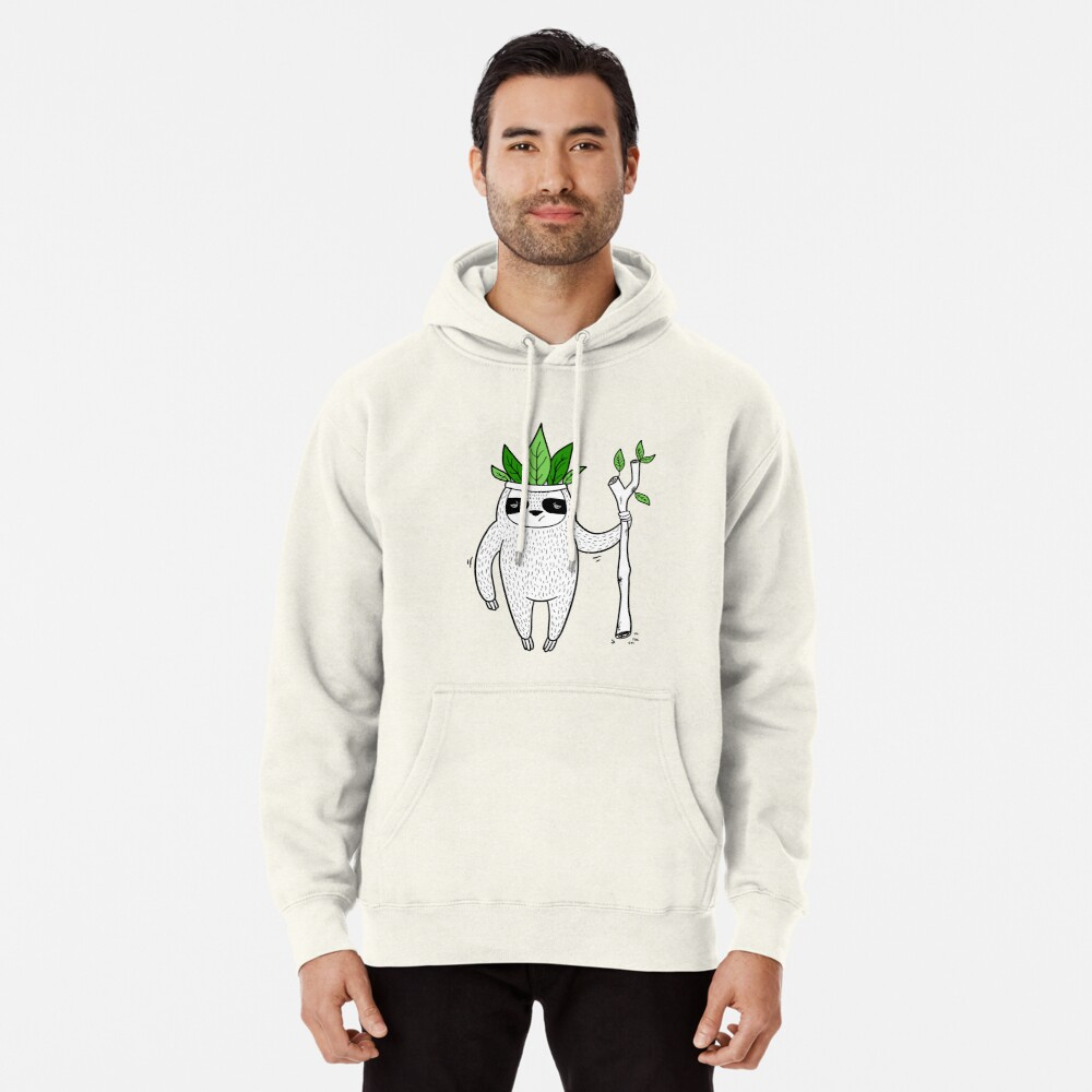 King of Sloth Pullover Hoodie