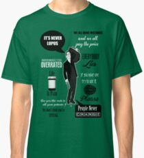 Dr House Montage  Classic T-Shirt