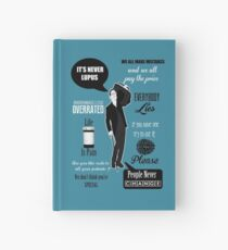 Dr House Montage  Hardcover Journal