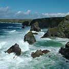 Bedruthan Steps, Cornwall by Barnaby Edwards