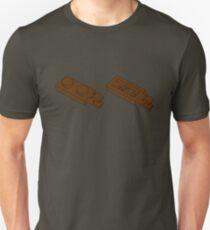 The Lego Reddish Brown Plate 2X1 W-Holder, Vertical Unisex T-Shirt