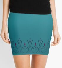 Snow Queen Coronation Pencil Skirt Mini Skirt