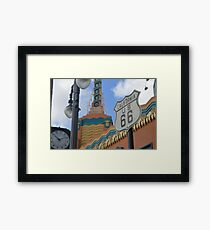 Route 66 in WDW Framed Print