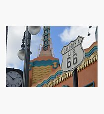 Route 66 in WDW Photographic Print