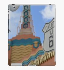 Route 66 in WDW iPad Case/Skin