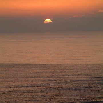 Newquay Sunset,Cornwall,UK by lucylucy