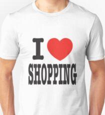 I Love Shopping Unisex T-Shirt
