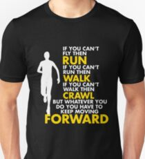 Keep Moving Forward Slim Fit T-Shirt