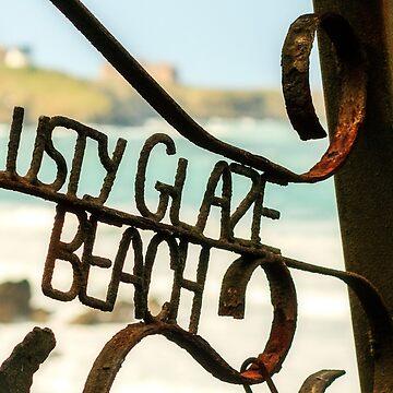 Lusty Glaze Beach,North Cornwall by lucylucy