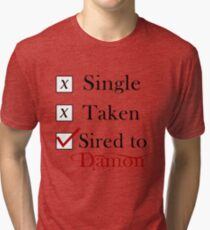 Camiseta de tejido mixto Sired To Damon