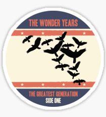 The Wonder Years - Greatest Generation Press Sticker Sticker