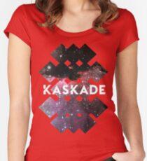 Kaskade Galaxy Black Women's Fitted Scoop T-Shirt