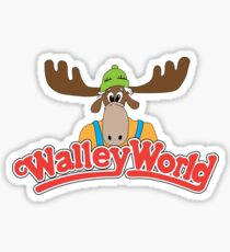 Walley Welt Sticker