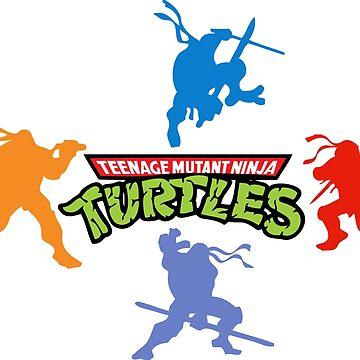 Ninja Turtle  by dntyarts