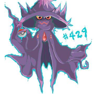 Mismagius #429 by Octopustempura