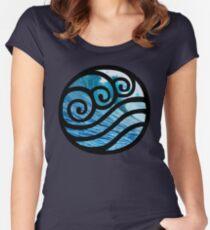 Waterbending - Avatar der letzte Luftbändiger Tailliertes Rundhals-Shirt