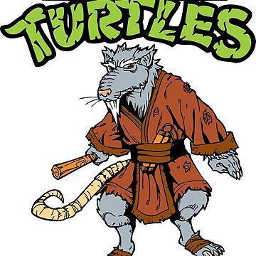 Ninja Turtle Splinter by dntyarts