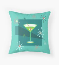 Creepy Cocktail Throw Pillow