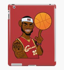 lebron james clevland iPad Case/Skin