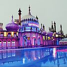 Pavilion Pink and Ice Rink by Paula Oakley