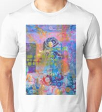 'Schism' - Abstract Floral Unisex T-Shirt