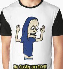 I Am a Clean Cornholio! Graphic T-Shirt