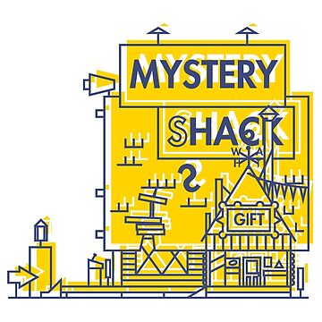 Mystery Shack by declankdesign