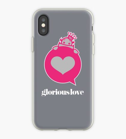 Glorious Monster Love iPhone Case